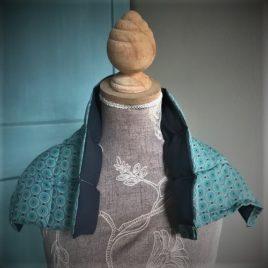 bouillotte sèche graine de lin grand modèle St Mathieu
