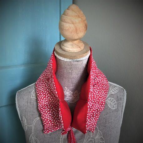 bouillotte sèche graine de lin le petit esquimau cervicale Quiberon