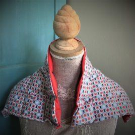 bouillotte coton et graine de lin le petit esquimau grand modèle pays de Lorient