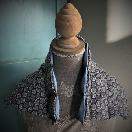 bouillotte sèche coton et graine de lin le petit esquimau grand modèle Pont-Aven
